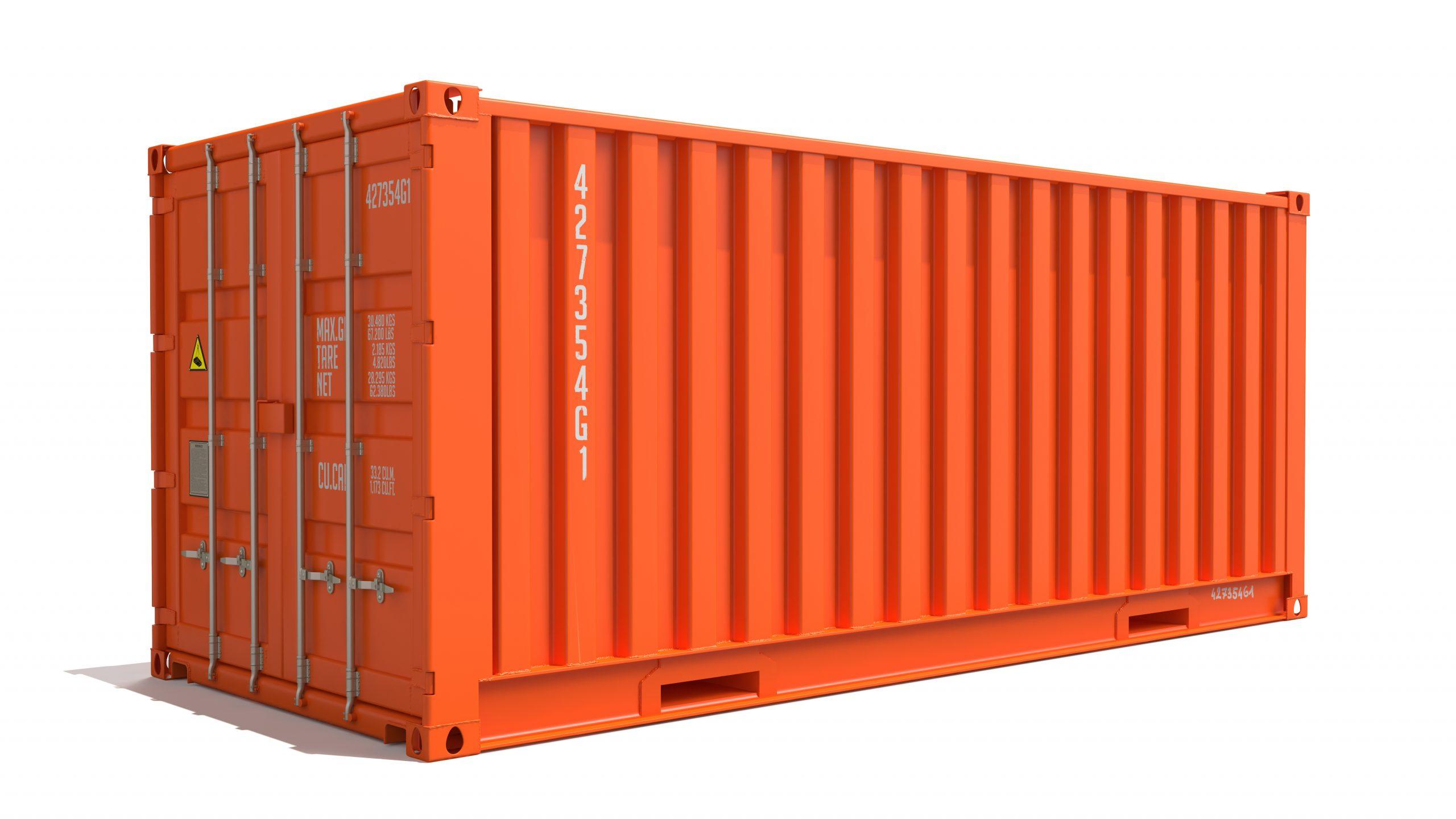 Container with Pegasus Locking system