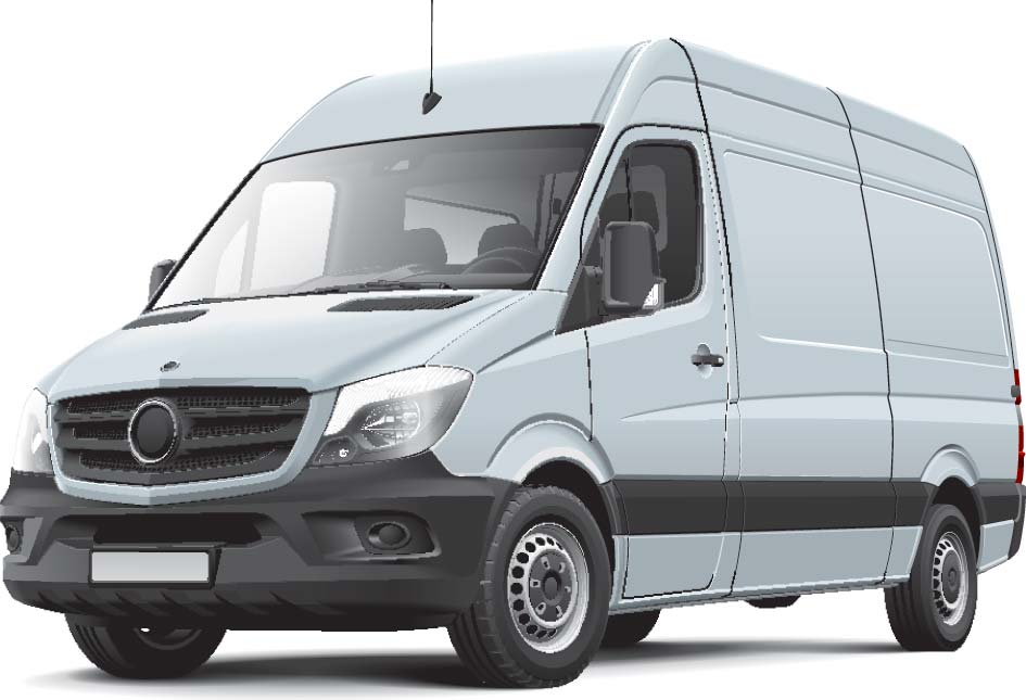 Commercial Van with Pegasus Locking system